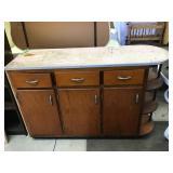 Kitchen cabinet 55 x 17 1/2 x 36 1/2