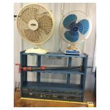 Organizer, Bar clamp, two fans