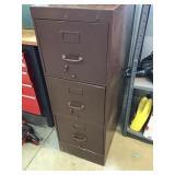 3 Drawer file cabinet , locked no key