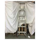 Werner 6 foot ladder, Aluminum
