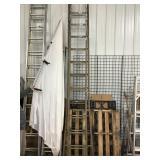 24 foot extension ladder, Wooden