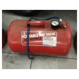 Air works midwest products portable air tank