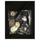 21 Kennedy Half-Dollars