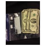 3 Two Dollar Bills