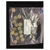 16 Buffalo Nickels