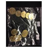 12 Sacagawea Dollars