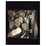 20 Kennedy Half-Dollars