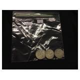 4 40 Percent Silver Kennedy Half-Dollars