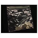 18 Silver Quarters
