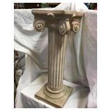 Pedestal, 24 X 10, Plaster