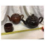 To Teapots And Mug