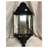 Metal And Mirror Wall Candle Holder, 16 X 7 1/2