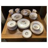 Set Of Dishes, The Cronin China Company Minerva
