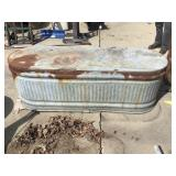 Water Tank, 71 X 23 X 24, Some Rust
