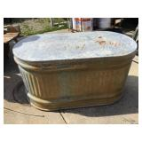 Water Tank, 46 X 24 X 24, Rust