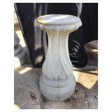 Cement Pedestal, 21 X 10