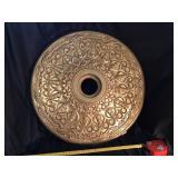 Decorative Ceiling Plate, 20 1/2in, Plastic