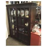 China Cabinet, 68 1/2 X 52 X 14 1/2, Four