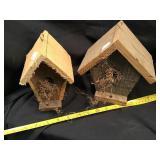 Two Bird Houses