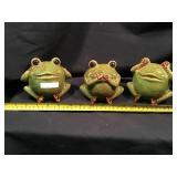 Ceramic Frogs