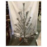 48 Inch Silver Christmas Tree