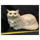 Chalk Ware Bank Cat, Chipping