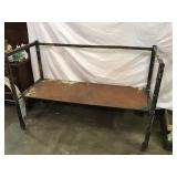 Industrial Cart On Casters, 61 X 26 X 41, Height