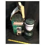 Coleman camp lantern in box