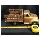 Tonka Farms stock truck, some scratches, Custom
