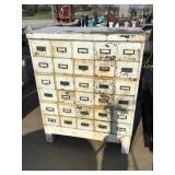 Stacking File box cabinet, 45 x 35 x 17 1/2, some