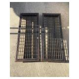 Two grates 32 x 12 1/2