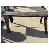 Wooden bench, 55 x 10 x 22
