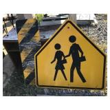 Two Aluminum signs