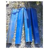 Four metal industrial leg, 44 , Angle is four and