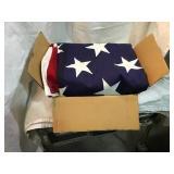 American flag 10 x 5 foot
