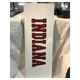 Indiana metal sign, 31 x 11 1/2