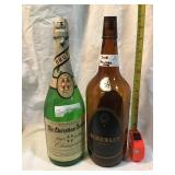 The Christian brothers champagne bottle and