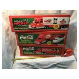 Coca-Cola holiday inn Mickey Mouse semi's