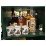 Christian Brothers Brandy, Smirnoff vodka,