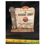 Kosciusko County Farm Bureau co-op rain gauge