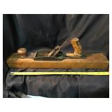 Wood plane, repaired, No blade