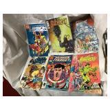 Comics including DC, marvel, mad dog, image