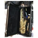 Yamaha saxophone, Scratches, Model YAS52