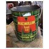 Macmillan Royal Scot motor oil Can