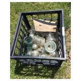 Crate of insulators