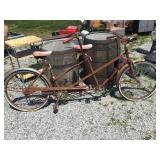 Huffy tandem bicycle