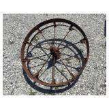 Steel wheel, 30 inch