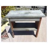 Wooden bench, 19 x 16 x 9