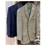 Wool Suit Jacket And Suit Jacket Unknown Size 17