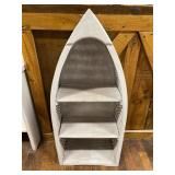 Boat Wicker Shelf 16x8x36